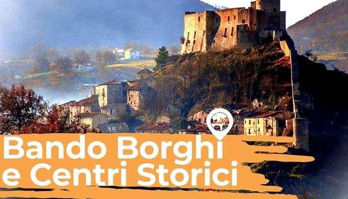 BANDO BORGHI E CENTRI STORICI MIBACT.